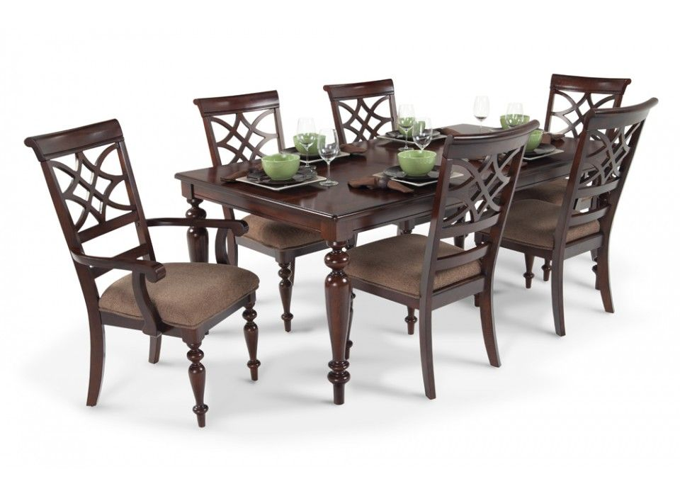 cheap dining room table and chair sets | Woodmark 7 Piece Dining Set | Dining Room Sets | Dining ...