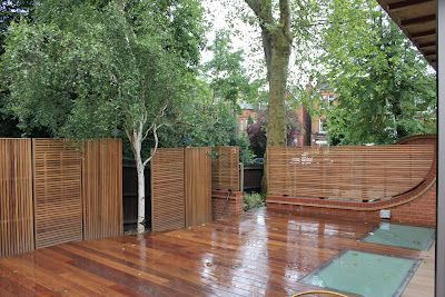 Jdh Joinery And Timberscape Hampstead Hard Wood Slatted Garden Fencing