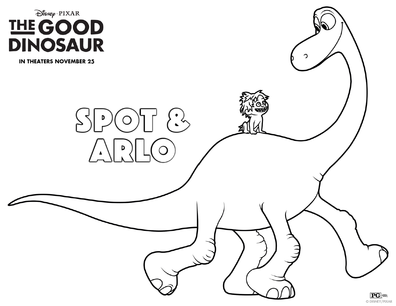 3d coloring pages - Get Pumped For Gooddino With This Prehistoric Coloring Sheet Meet Arlo Spot In