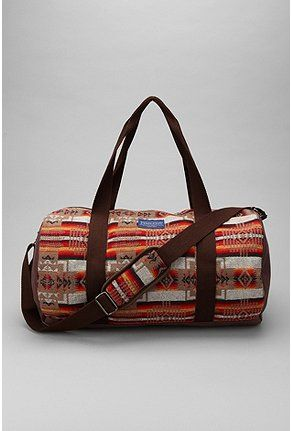 74f8dba727 Pendleton Patterned Duffle Bag