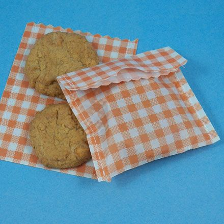 Cookie Bags From Handmade Waxed Paper Print Any Design You Like Onto Computer Then Wax It