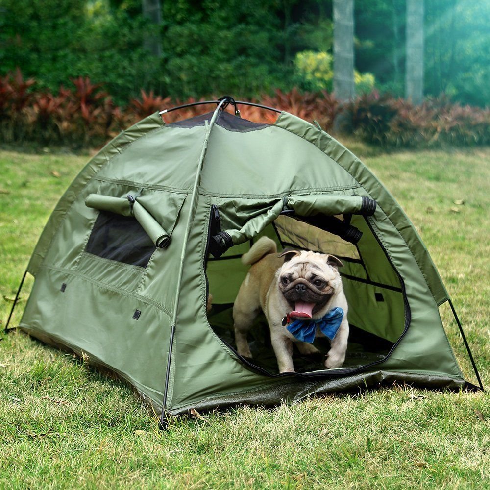 Amazon.com  Lumsing Portable Folding Outdoor C& C&ing Tent house for Pop Up Pet & Amazon.com : Lumsing Portable Folding Outdoor Camp Camping Tent ...