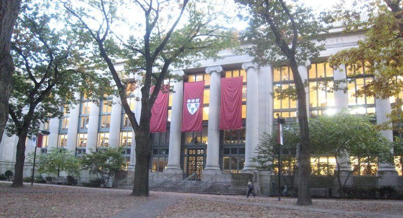 Panoramio Photo Of Langdell Hall Harvard Law School Library
