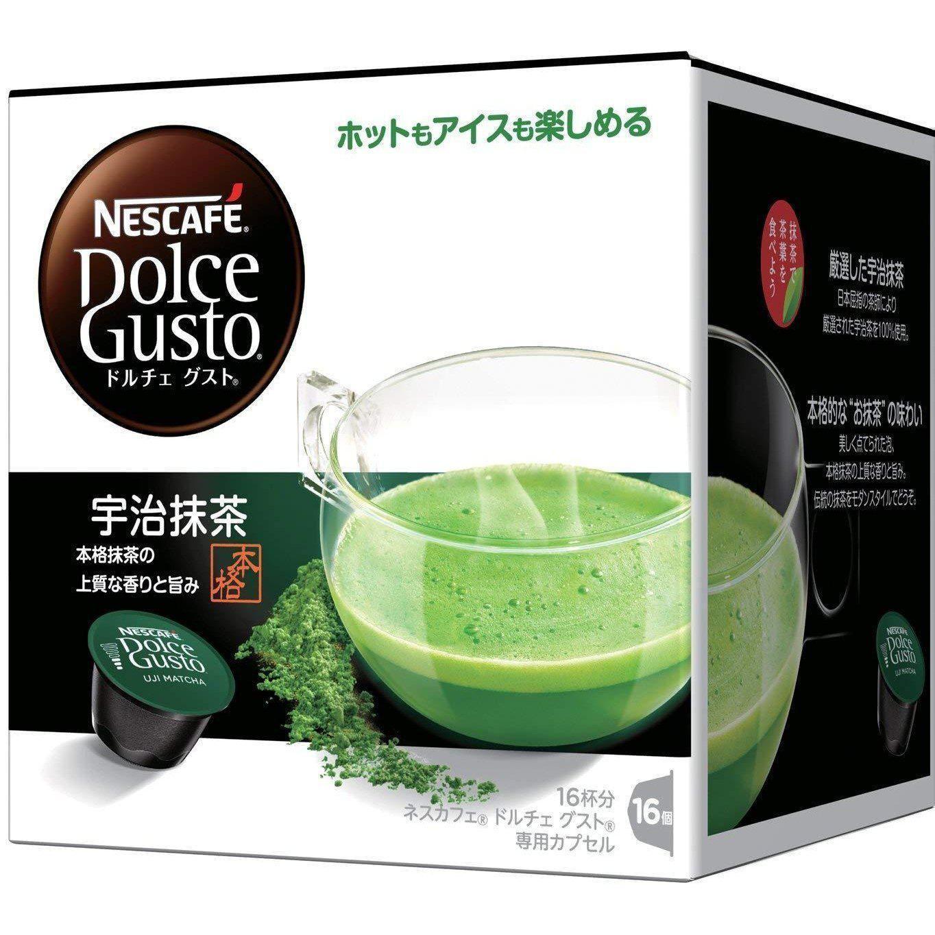 Nestlé Nescafe Dolce Gusto Capsules Uji Matcha 16 Pods
