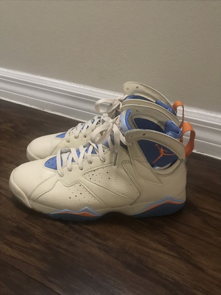 save off cfb42 bf181 2006 Jordan Retro 7 Sz9.5 Pacific Blue Pearl White Ceramic 304775-281 (No  Box)  fashion  clothing  shoes  accessories  mensshoes  athleticshoes (ebay  link)