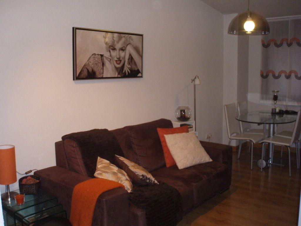 sofa marron decoracion  Buscar con Google  Interiores