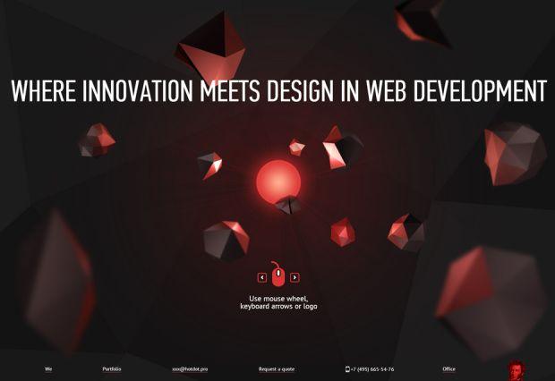 20 Websites Using Parallax Scrolling Web Design Web Design Trends Cool Websites