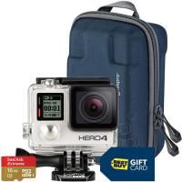 GoPro HERO4 SILVER w/ 16GB Memory Card & $70 Gift Card for $399.99