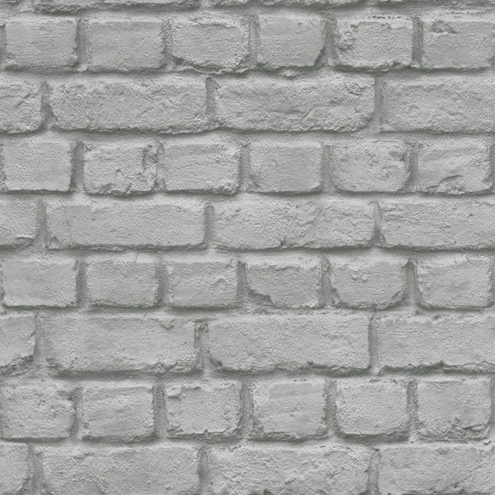 Rasch Brick Stone Wall Realistic Faux Effect Textured Photographic