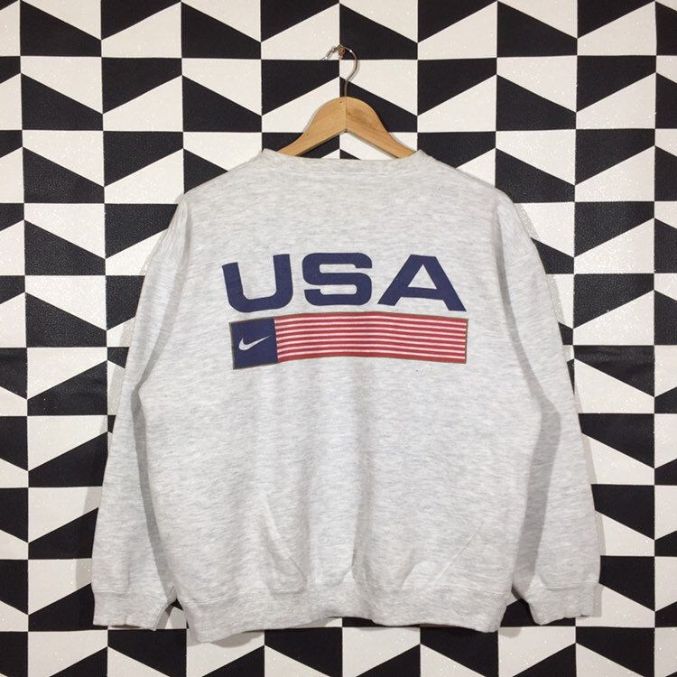 Caña Implementar sí mismo  Vintage 90s Nike Sweatshirt Crewneck Nike Pullover Jumper Nike | Etsy |  Sweatshirts, Nike pullover, Printed sweatshirts
