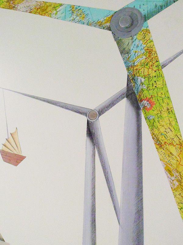 Illustration peinture murale Intervention sur murs et plafonds en