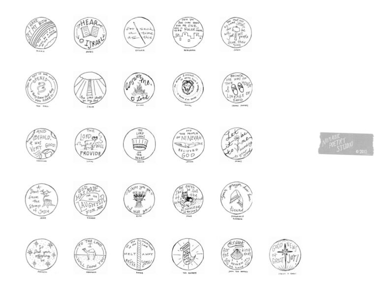 Jesse Tree Free Printable Ornaments/Advent Colouring Pages ...