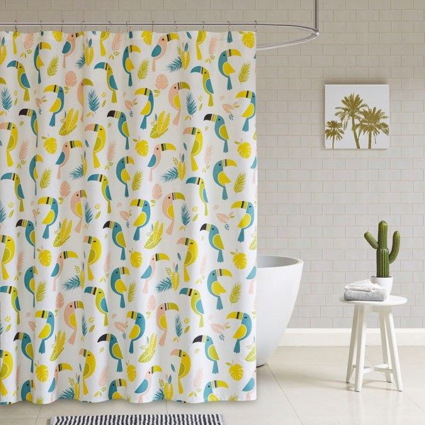 Bring Your Space To Life With The Hipstyle Toco Shower Curtain