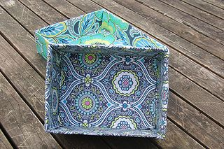 Fabric-covered boxes for kids' toy storage. Use car fabric for storing cars, etc. Very easy tutorial using mod podge