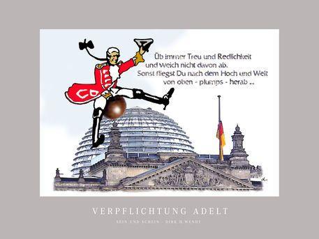 'Verpflichtung adelt' von Dirk h. Wendt bei artflakes.com als Poster oder Kunstdruck $19.41