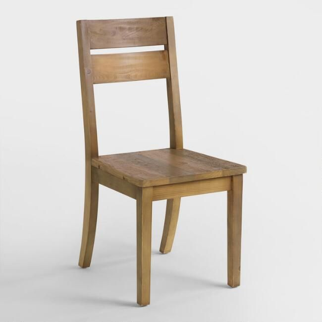 Reclaimed Pine Nolan Dining Chair Set of 2 | World Market & Reclaimed Pine Nolan Dining Chair Set of 2 | World Market | Dining ...