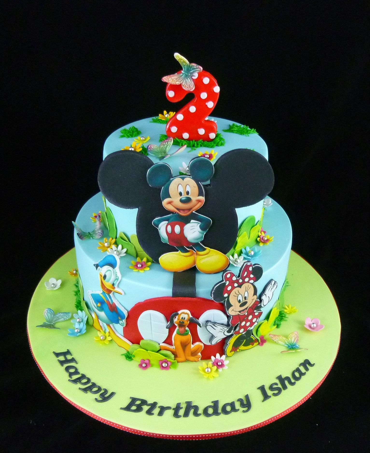 Cake and cookie decorating mickey cakes mickey mouse