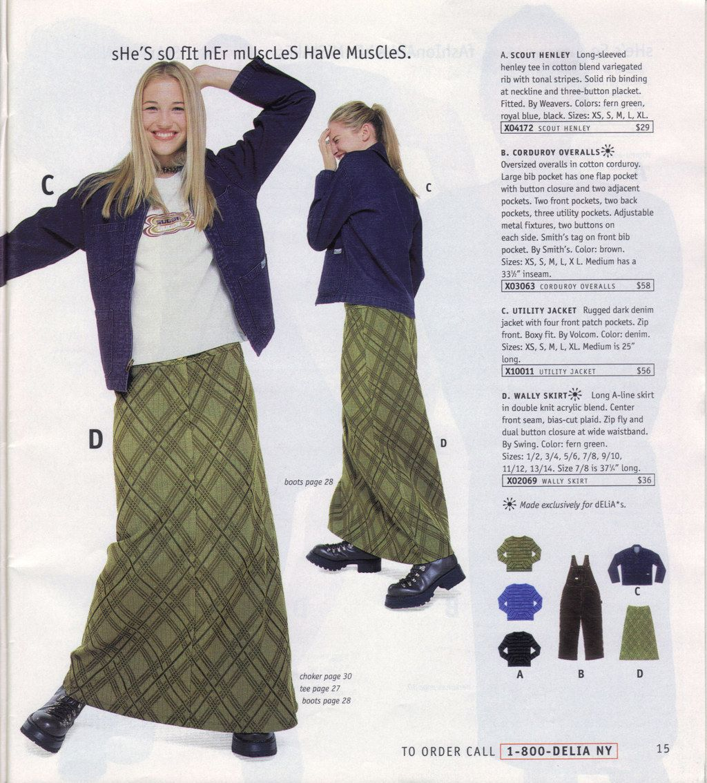 Photo of Long A-line skirts: