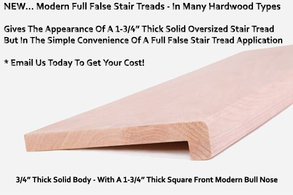 Perfect Modern Replacement Stair Cap