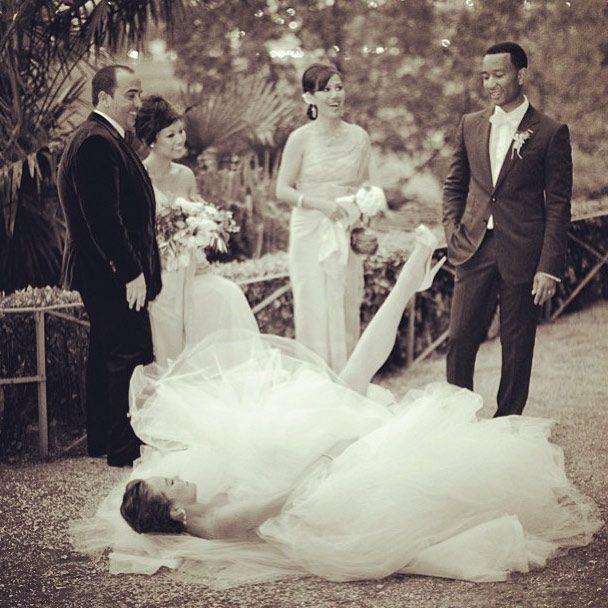 chrissy teigen wedding | Newlywed Chrissy Teigen stuns in new wedding photos with John Legend ...