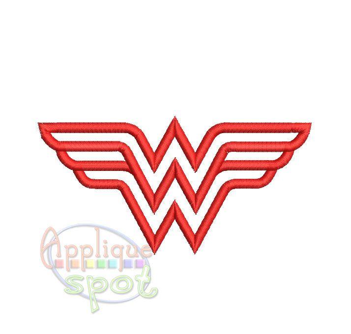 Wonder Woman Logo   Sizes Included  x   x   x