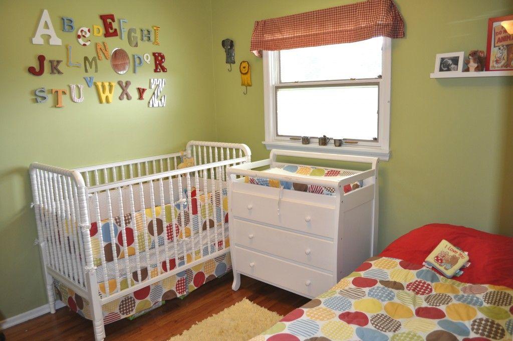 Super cute primary color themed nursery | Nurseries & Baby Goodies ...