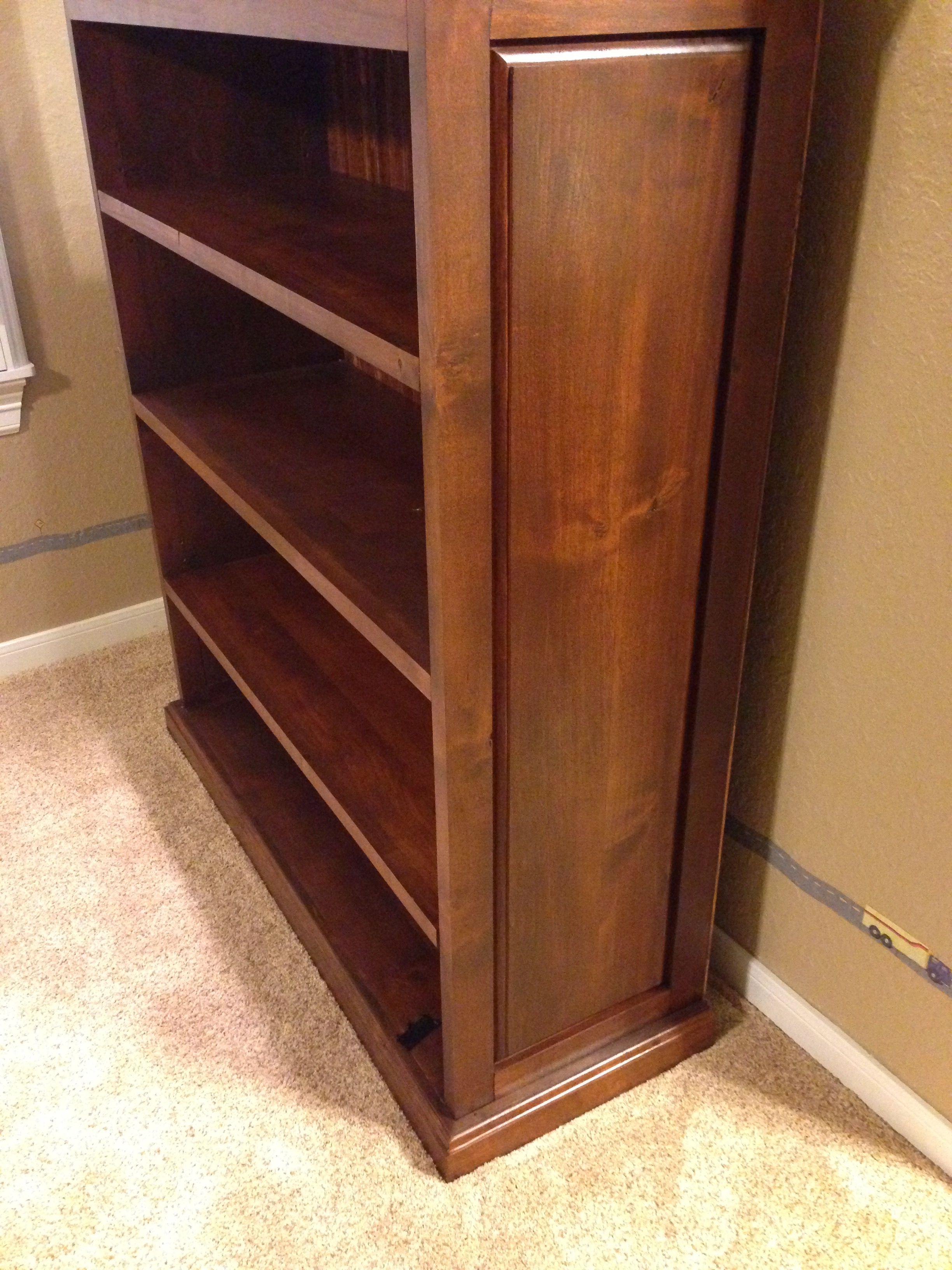 Custom Built Wooden Bookshelves