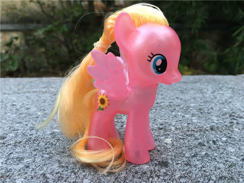 7 99 My Little Pony Mlp 3 Explore Equestria Meadow Flower Toy Figure Loose Ebay Collectibles Flower Toy Hasbro My Little Pony Little Pony