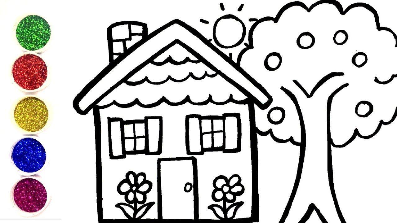 Comment Dessiner Une Maison Et Un Arbre Pour Les Enfants