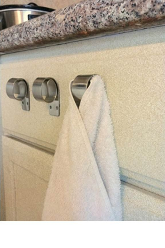 The Snail Stainless Steel Towel Hook Kitchen Towels Hanging