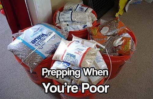 Prepping When You Re Poor Emergency Preparedness Food