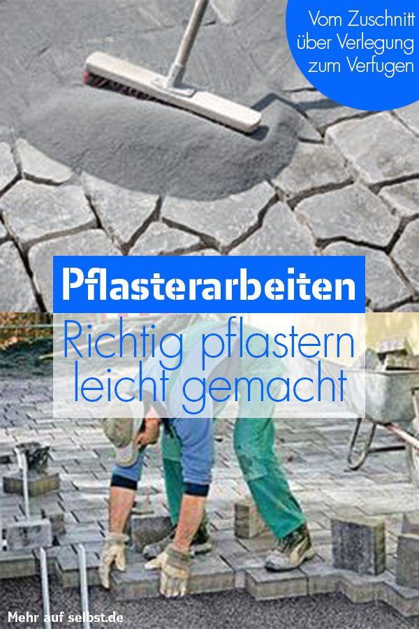 Pflaster selber machen| selbst.de