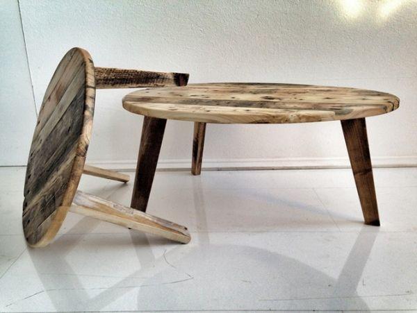 Gebrauchte wohnzimmertische ~ Möbel design gebrauchte holzpaletten als baumaterial für tische