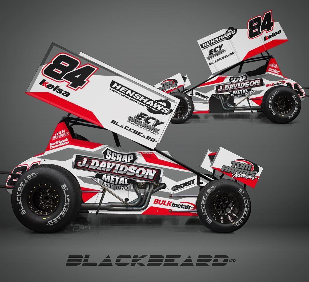 Blackbeard Designed Sprint Car Racing Sprint Cars Race Cars [ 985 x 1080 Pixel ]