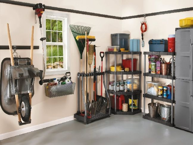 Rubbermaid Garage Organization