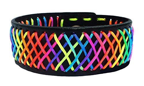 BDJ Handmade Gay Pride Woven Rainbow Cord Wrap Leather Wristband Bracelet Bangle 7-8 Inches Bijou De Ja http://www.amazon.com/dp/B0162Z04UM/ref=cm_sw_r_pi_dp_4NzCwb1TC25PC