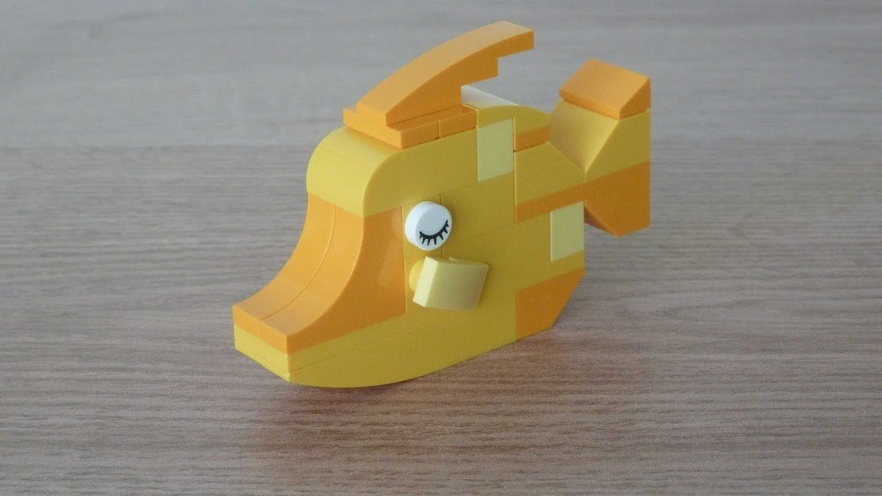 ef135481d700 LEGO CLASSIC 10704 How to build a Fish   Lego   Lego, Lego fish ...