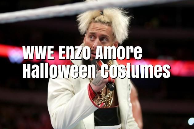 wwe enzo amore halloween costumes looking for a wwe superstar to dress up as for halloween go to the costume parties as enzo amore find