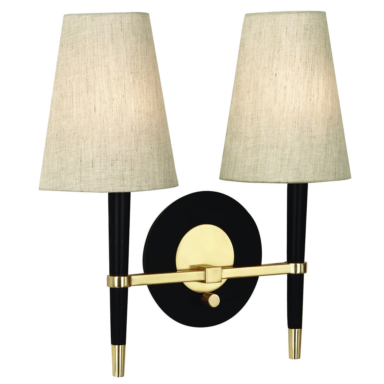 Ventana half shades wall light by jonathan adler ra pn772 information robert abbey jonathan adler ventana half shade wall sconce features the ventana wall sconce from robert abbey features modern aesthetics with amipublicfo Images