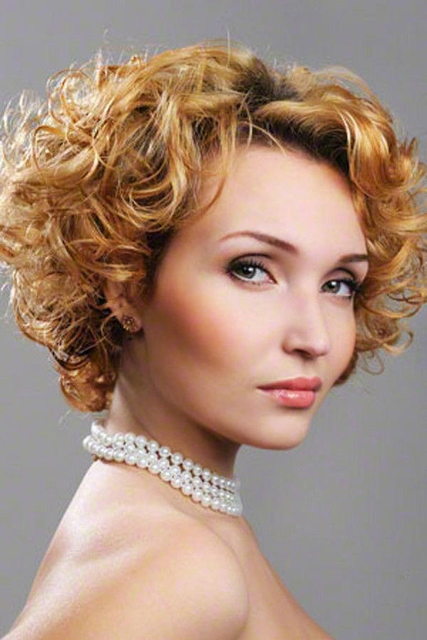 Reasons Short Curly Hair for Women : Pictures Of Short Haircuts For Curly Hair #prom hairdos for short hair