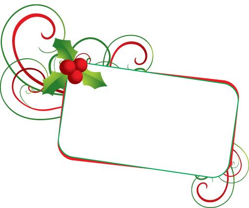 free christmas clip art banner celebration christmas frame rh pinterest com