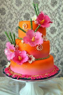 Awe Inspiring Delanas Cakes Hawaiian Theme Cakes Luau Cakes Hawaii Cake Funny Birthday Cards Online Inifofree Goldxyz