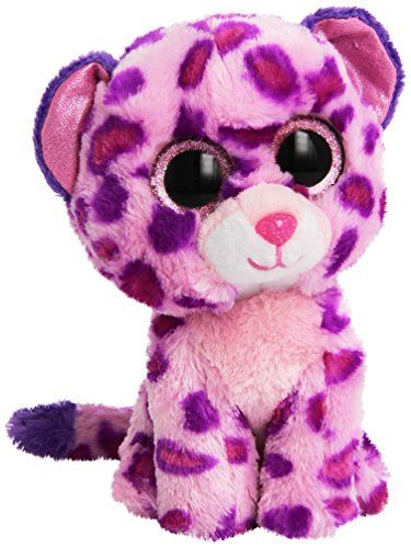 Read The Full Description   Reviews Here - TY Beanie Boo Plush - Pink  Leopard Glamour - Ty Beanie Boo 6″ Plush – Pink Leopard ... 1ce8ad1d74bd