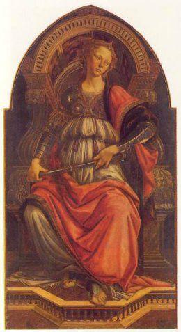 Fortitude, Botticelli