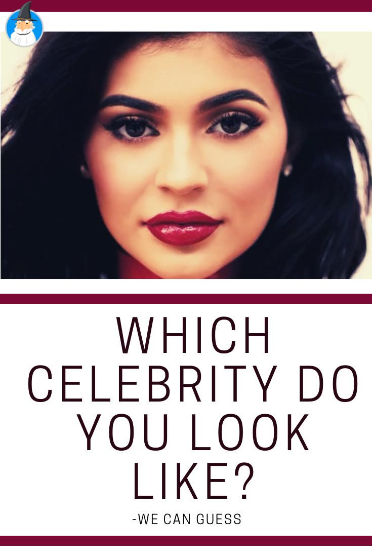 Alike who look is celebrity your Celebrity Look