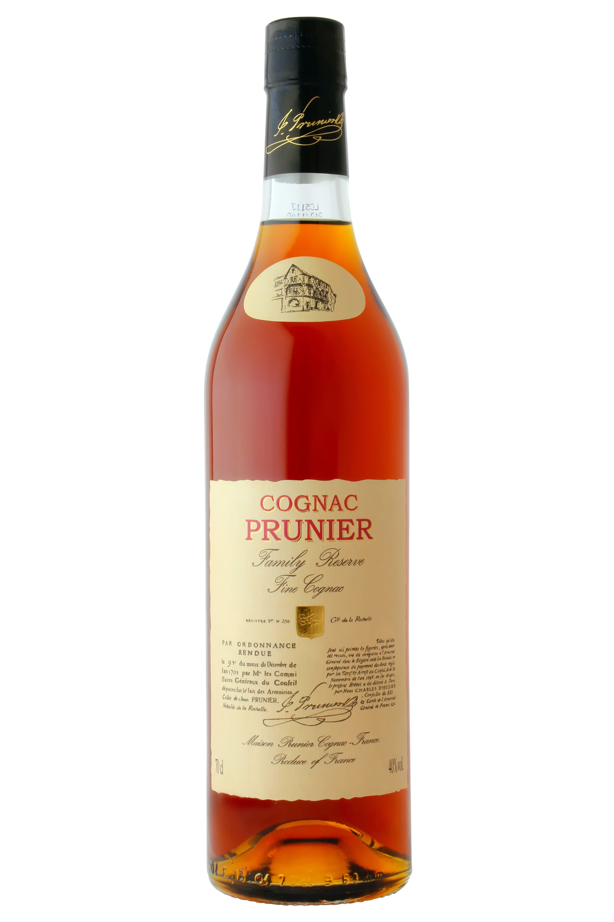 Prunier Reserve De La Famille Family Reserve Cognac Buy Online And Find Prices On Cognac Expert Com In 2020 Bottle Wine