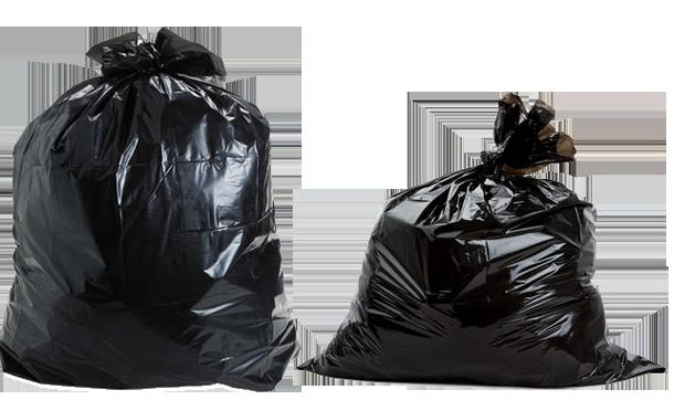 Black Garbage Bags 11 15 Png 610 362
