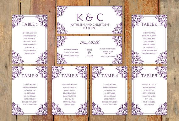 Free Printable Seating Chart Instantly Download And Print Your Own Wedding Seating Chart And .