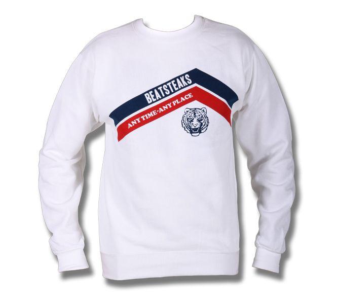 Beatsteaks Anytime Sweater Weiss