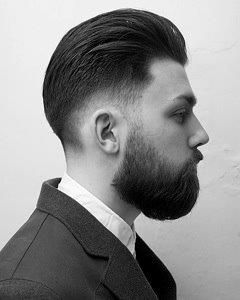 British Barbers Association Mens Hairstyles Mens Hairstyles Undercut Beard No Mustache